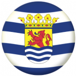 Zeeland Region Flag 25mm Pin Button Badge